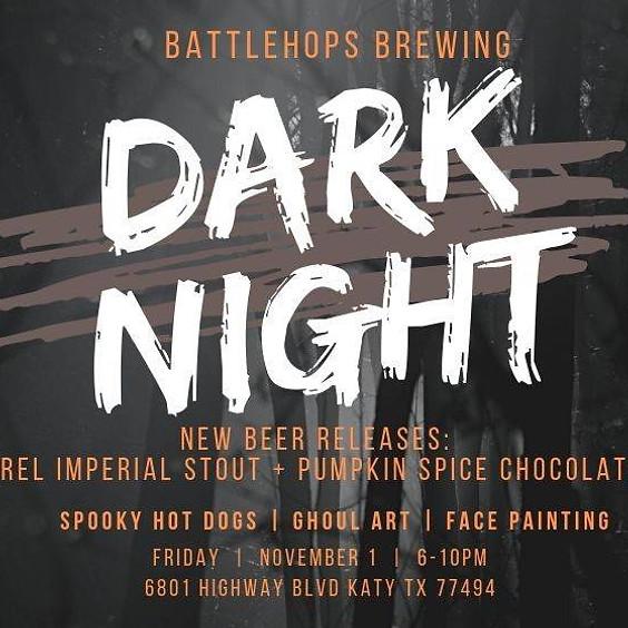 Dark Night at Battlehops Brewing