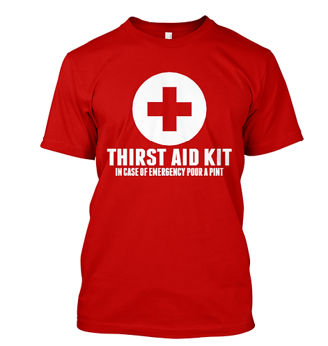 Thirst Aid Kit Tee
