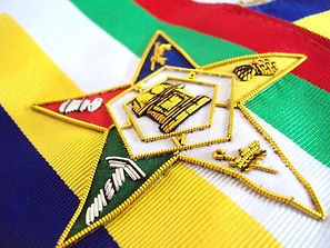 Hand-Embroidered-Five-Point-Masonic-Oes-