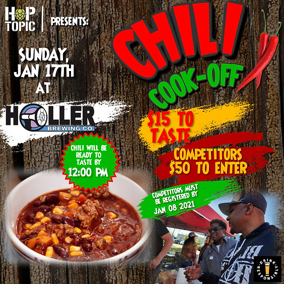 1st Annual Chill Cook-Off