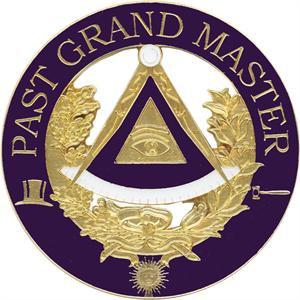 DIE CAST AUTO EMBLEM-PAST GRAND MASTER