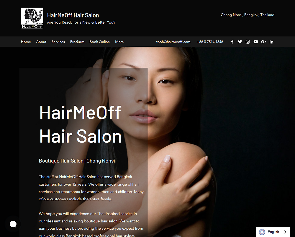 HairMeOff Hair Salon. Boutique hair salon in Chong Nonsi. Exceeding your Expections. Are You Ready for a New & Better You?