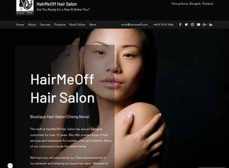 HairMeOff.com Redesign