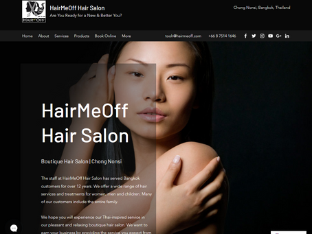 HairMeOff.com Redesign