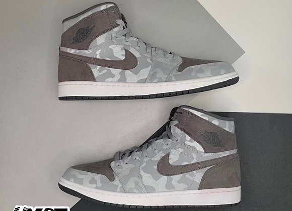 Jordan 1 Retro High Camo 3M Wolf Grey