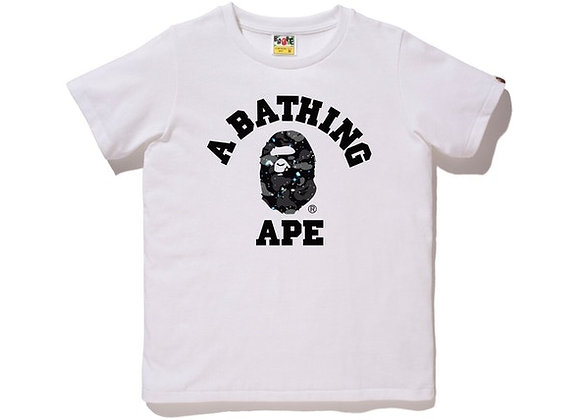 Bape College Space Ladies White