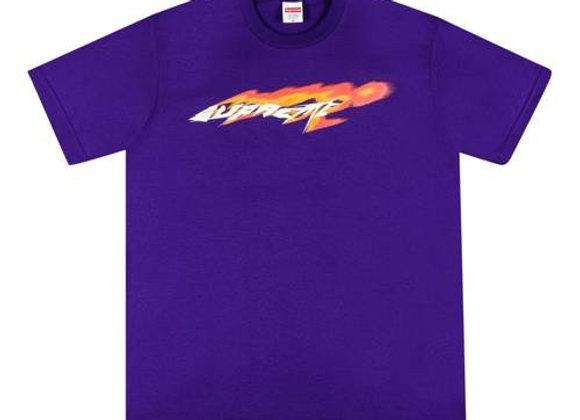 Supreme Wind Tee Purple