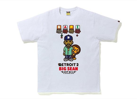 Bape x Big Sean Detroit 2 Baby Milo Tee