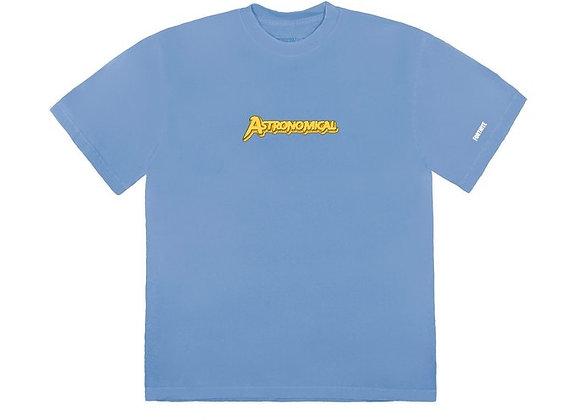 Travis Scott The Scotts Astro Goosebumps T-Shirt Blue