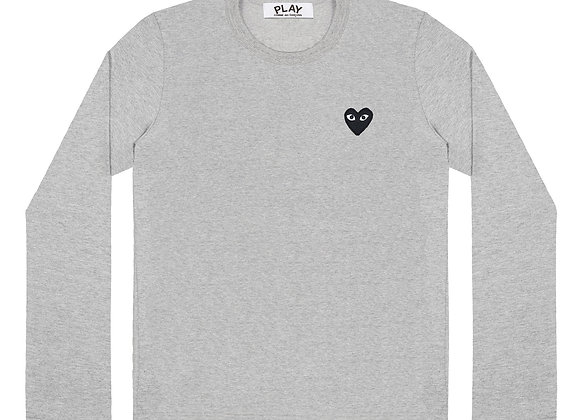 Comme des Garcon Play Gray Long-sleeve