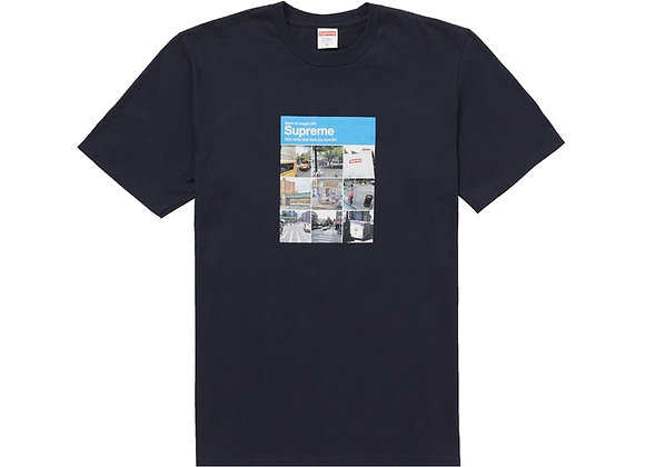 Supreme Verify Tee Navy