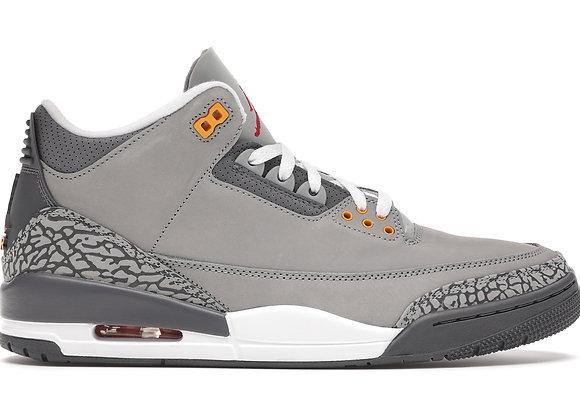 Jordan 3 Cool Gray