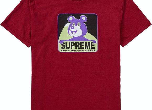 Supreme Bear Burgundy Tee