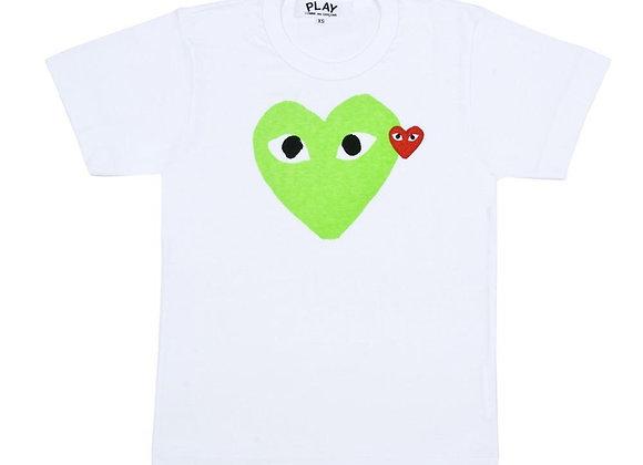 Comme des Garcon Play TShirt Green