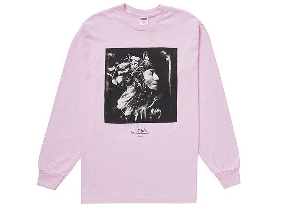 Supreme Joel-Peter Witkin Harvest L/S Tee Light Pink