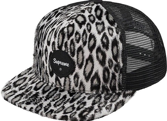 Supreme Leopard Mesh Back 5 Panel