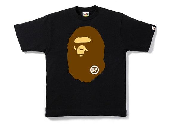 BAPE Big Ape Head Tee Navy Ladies