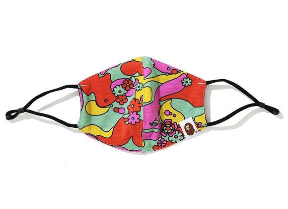 BAPE ABC Camo Flower Mask