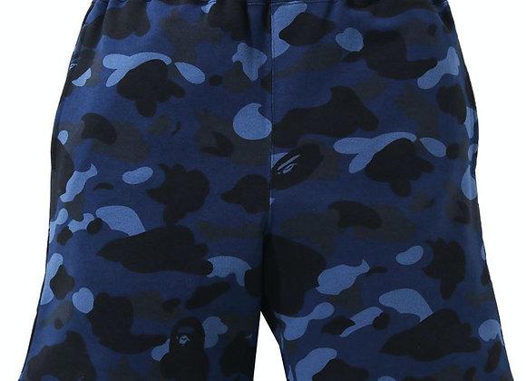 Bape Blue Camo Shorts