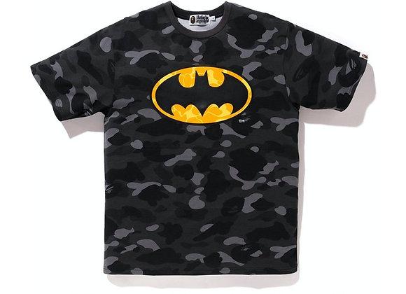 BAPE x DC Batman Color Camo Tee