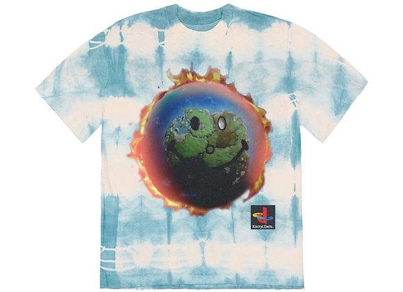 Travis Scott The Scotts World Tie Dye T-Shirt Tie Dye