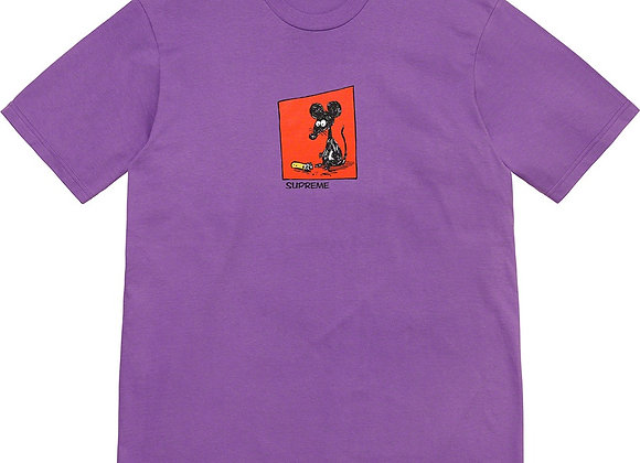 Supreme Mouse Tee Purple