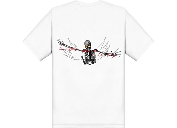 Travis Scott Look Mom I Can Fly Tee White