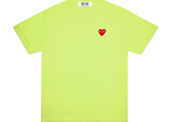 Comme des Garcon Red Play Green T-Shirt