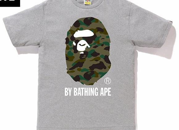 A Bathing Ape ABC Camo Big Ape Head Tee