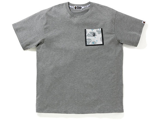 A Bathing Ape Relaxed Space Camo Pocket Tee Grey