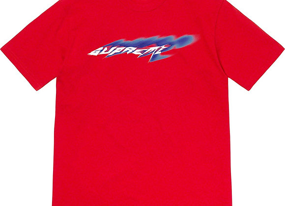 Supreme Wind Tee Red