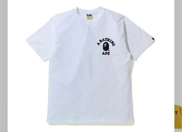 A Bathing Ape Silicon College One Point Tee