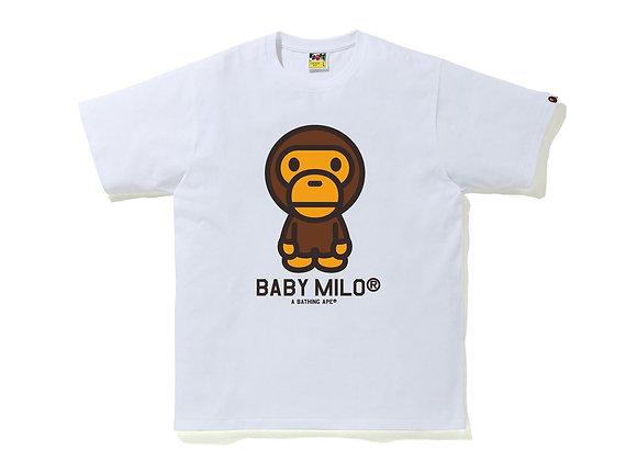 Baby Milo White Tee