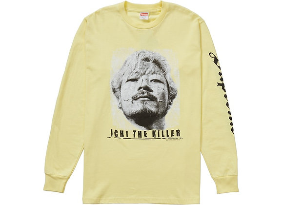 Supreme Ichi The Killer L/S Tee Pale Yellow