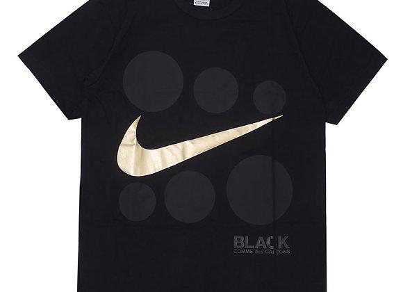 CDG X Nike Gold Check Tee