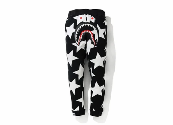 Bape Sta Pattern Shark Sweatpants Slim