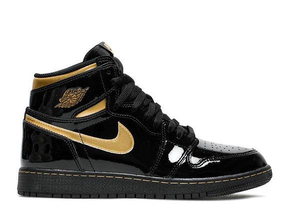 Jordan 1 Black Metallic Gold
