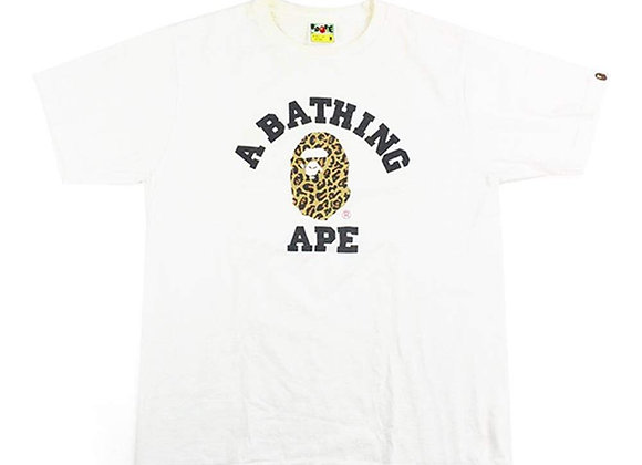 BAPE LEOPARD BY BATHING APE TEE MEN'S
