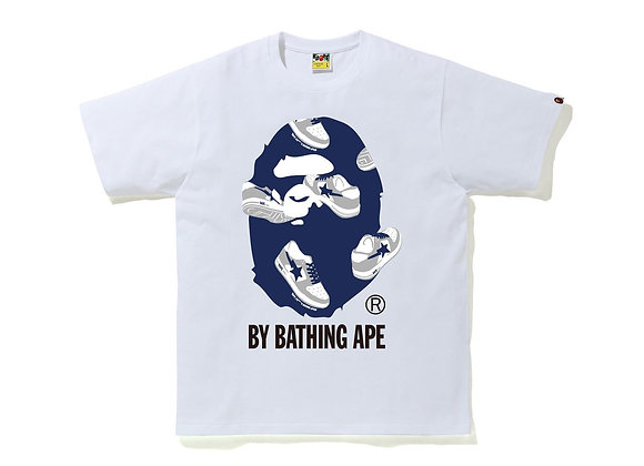 Bape Random Bape Sta By Bathing Ape White/Blue