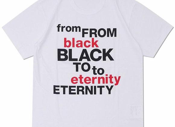 CDG BLACK to Eternity Tee