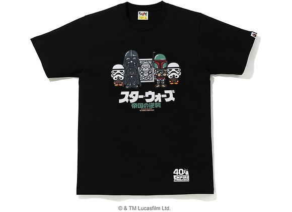 A Bathing Ape BAPE X Star Wars Baby Milo Carbonite Tee Black