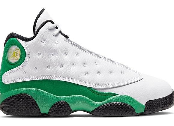 Jordan 13 Retro White Lucky Green (PS)