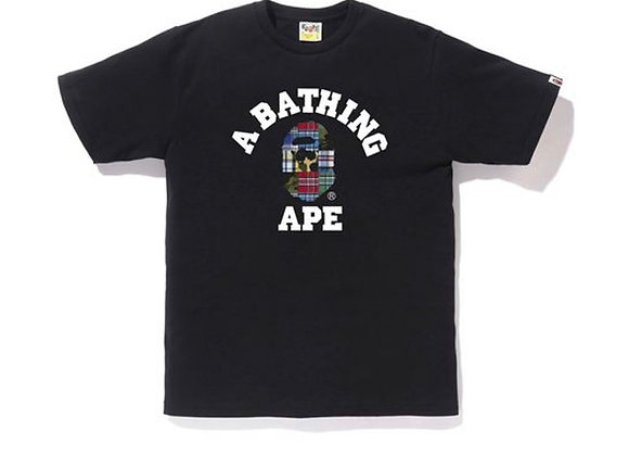 BAPE Patchwork College Tee