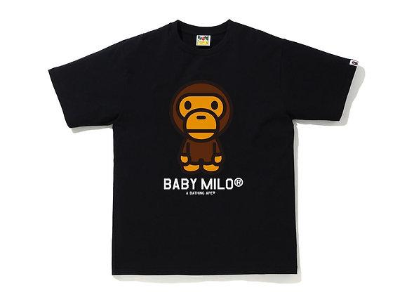 Baby Milo Black Tee