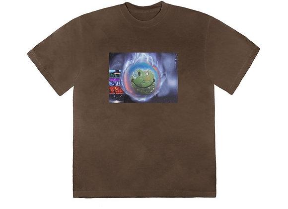 Travis Scott World Event T-Shirt Bleached