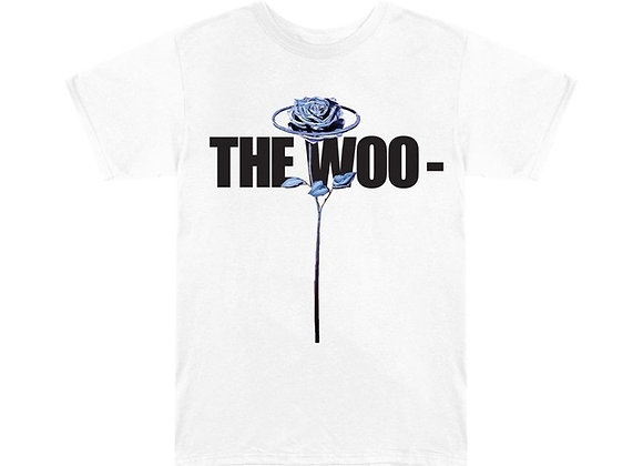Pop Smoke x Vlone The Woo T-Shirt White