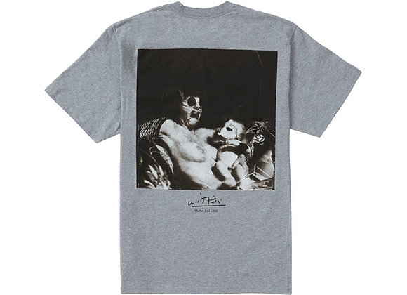 Supreme Joel-Peter Witkin Mother and Child Tee Heather