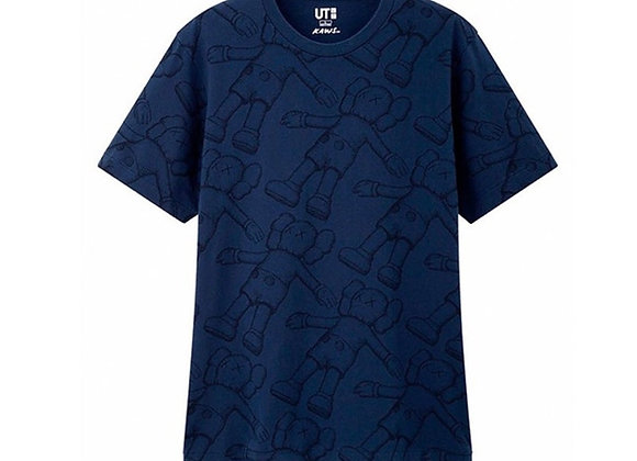 Kaws X Uniqlo All Over Holiday Print Tee