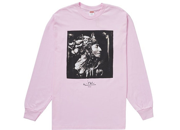 Supreme Joel-Peter Witkin Harvest L/S Tee Light Pink