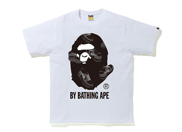 Bape Random Bape Sta By Bathing Ape White/Gray